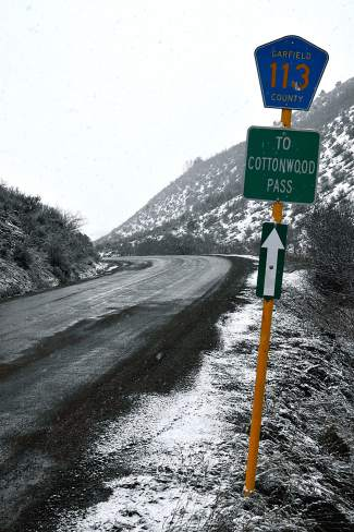 State Rep. Bob Rankin and Garfield County Commissioner Tom Jankovsky would like to further the discussion about improving Cottonwood Pass between Garfield and Eagle counties as a year-round alternate route in the event of I-70 closures through Glenwood Canyon.