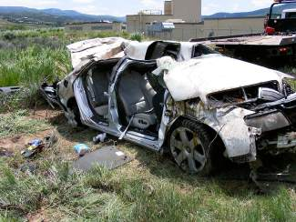 Driver in fatal Edwards crash charged with vehicular
