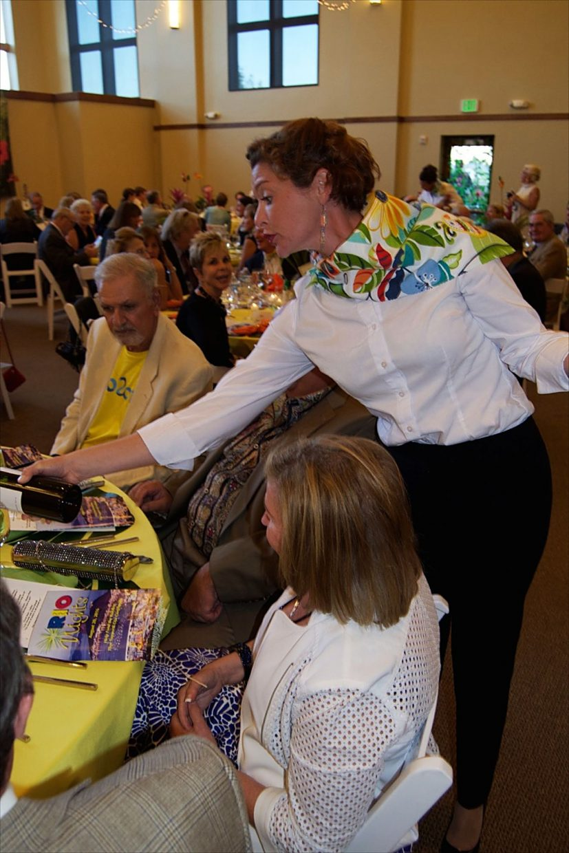 Attendees enjoy Rio Nights on Saturday, Aug. 20, in support of the Edwards Interfaith Chapel and Community Center.