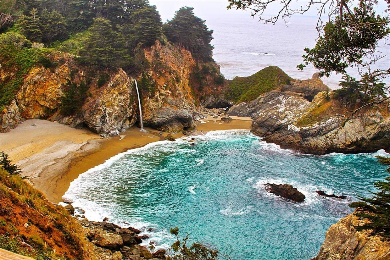McWay Falls: Author David Helvarg sees California as one of those vanguards of the counterrevolution against humanity's own hubris.