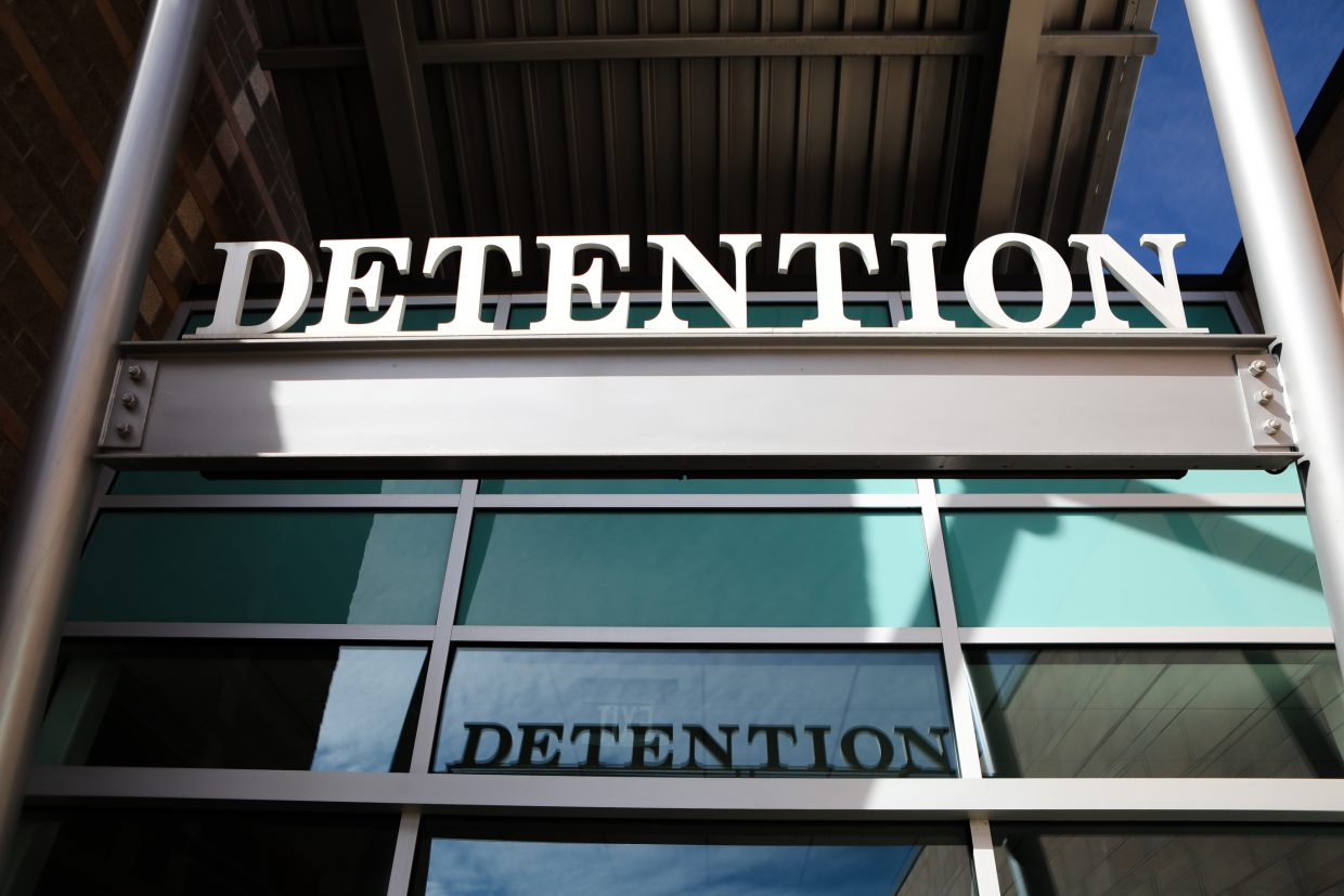 The entrance of the Eagle County Detention Center Friday, Oct. 3, in Eagle. The jail says it needs more staff to utilize the facility how it's supposed to be used.