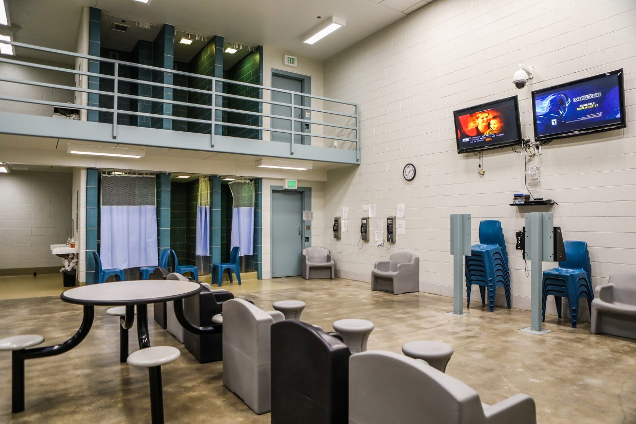 One of the pods in the Eagle County Detention Center Friday, Nov. 3, in Eagle. If fully staffed, the jail can house more than 100 inmates.