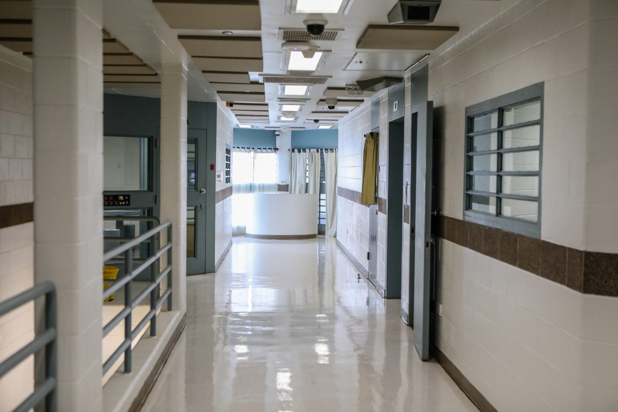 A set of cells at the Eagle County Detention Center Friday, Nov. 3, in Eagle. The Eagle County Sheriff's Office says it needs more staff for the jail.