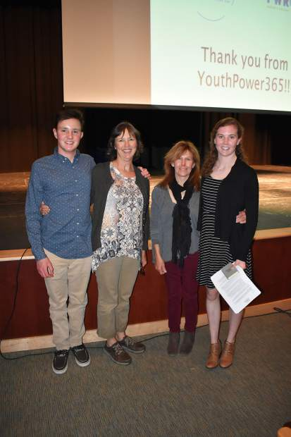 Vail Health's Employee Dependent Scholarship award winners were Collin Jenkins, son of Twila, a 21-year employee of Vail Health; and Sarah Smith, daughter of Patti Erickson, a 32-year employee. The scholarship is a special way Vail Health has chosen to give back to its employees and young adults in the community.