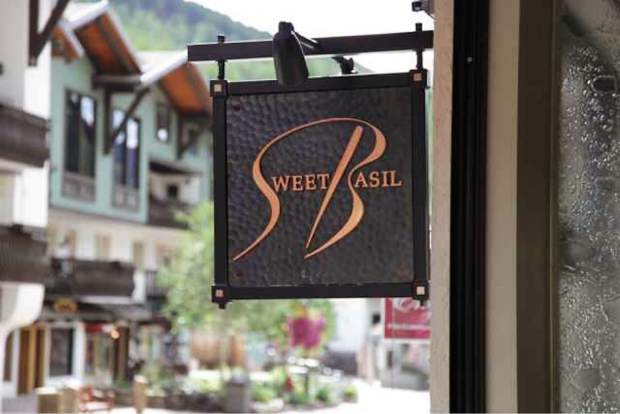 Sweet Basil in Vail is serving a lunch special as well as dinner entrees for $20.18.