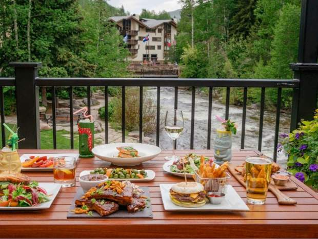 More than 40 restaurants are participating in Vail Beaver Creek Restaurant Week, serving $20.18 specials. White Bison, located along Gore Creek in Vail, will be serving a bison burger and beer for $20.18.
