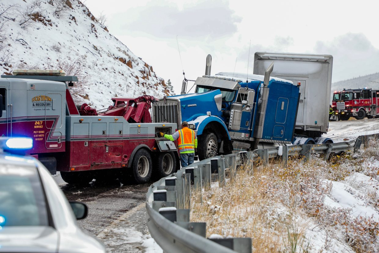 Early season storm leads to highway traffic, accidents and