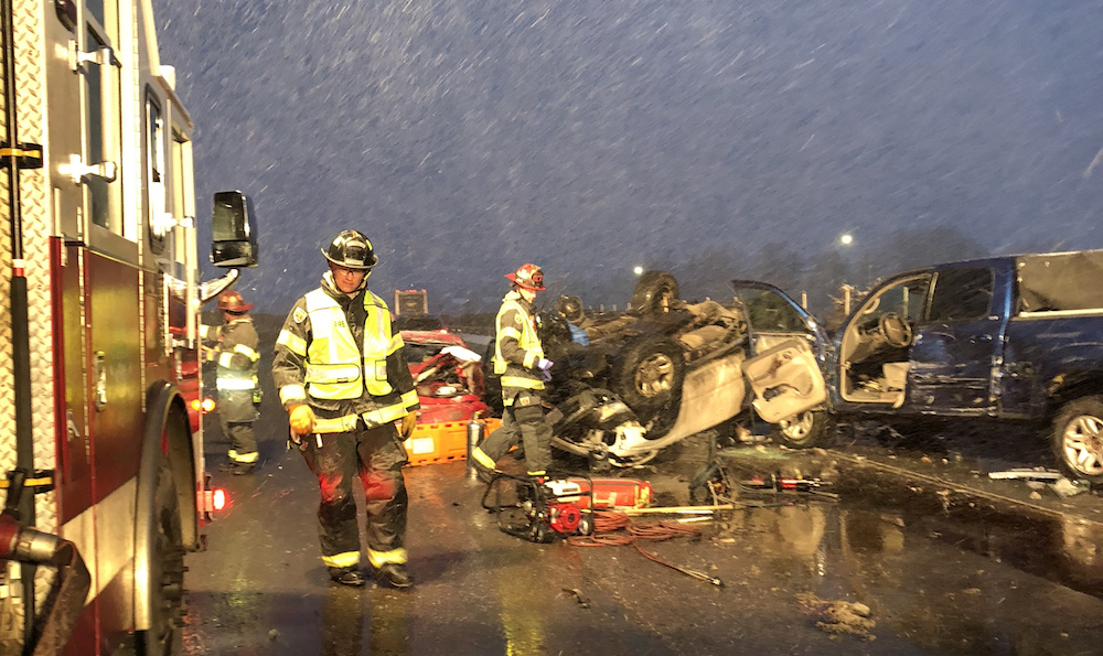 Injured Vail firefighter in stable condition after I-70