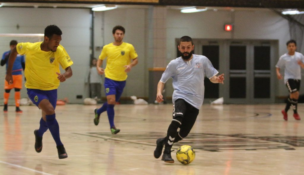 Cesar Castillo plays for the Vail Valley's Freedom FC in the Premier Arena Soccer League. He was spotted at the national tournament and asked to play for Team USA against Brazil.