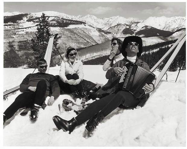 If you're looking for people enjoying themselves on closing day, Vail Mountain is a target-rich environment.