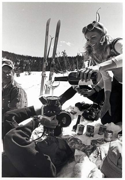 Closing Day on Vail Mountain is about the same now as it was 56 years ago when the ski resort opened. People laugh, celebrate and ski.