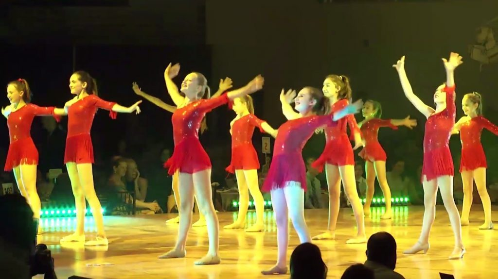 In addition to the celebrity dancers, local youth organizations like Celebrate the Beat and the Vail Performing Arts Academy (pictured here)  also performed at the 11th annual Star Dancing Gala.
