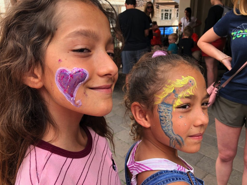 Face painting is just one of the many free activities kids can participate in during the Vail Family Fun Fest.