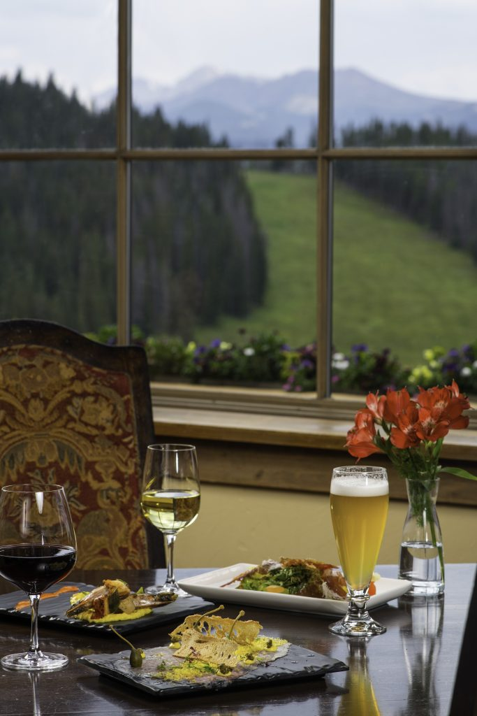 <b>Food dishes served at Game Creek Restaurant in Vail, CO.</b>