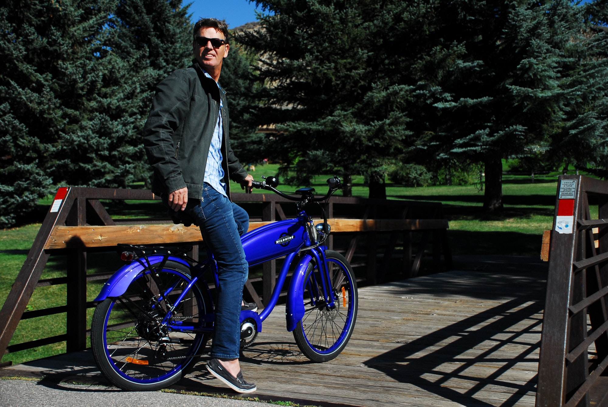 Wildsyde electric bikes bring smiles