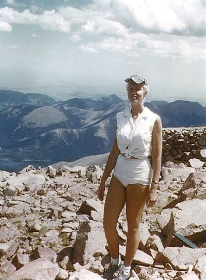 60 years ago, the first woman to complete a U.S. marathon ran to the top of Pikes Peak and back down again
