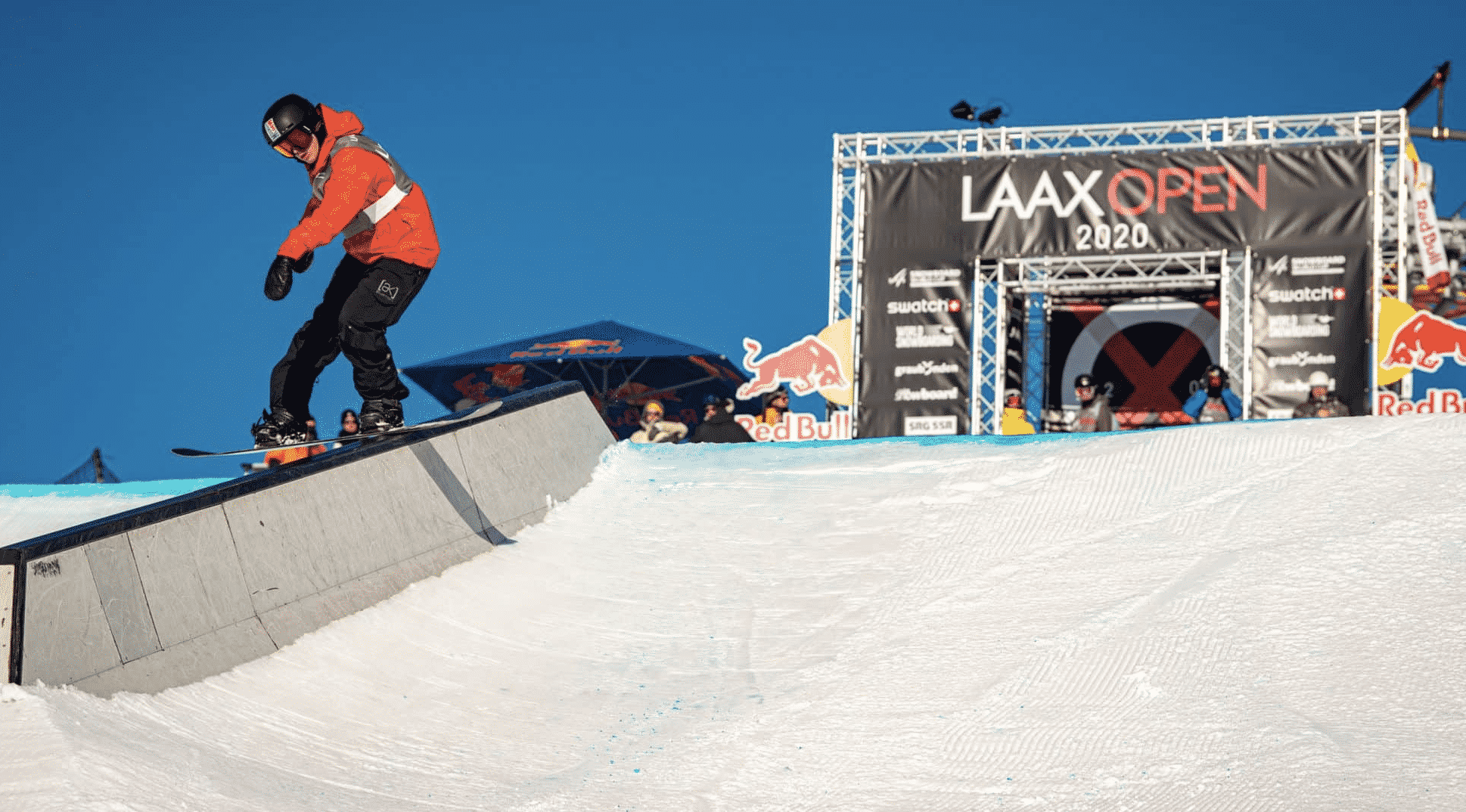 Red Gerard finishes as runner-up at Laax Open slopestyle competition