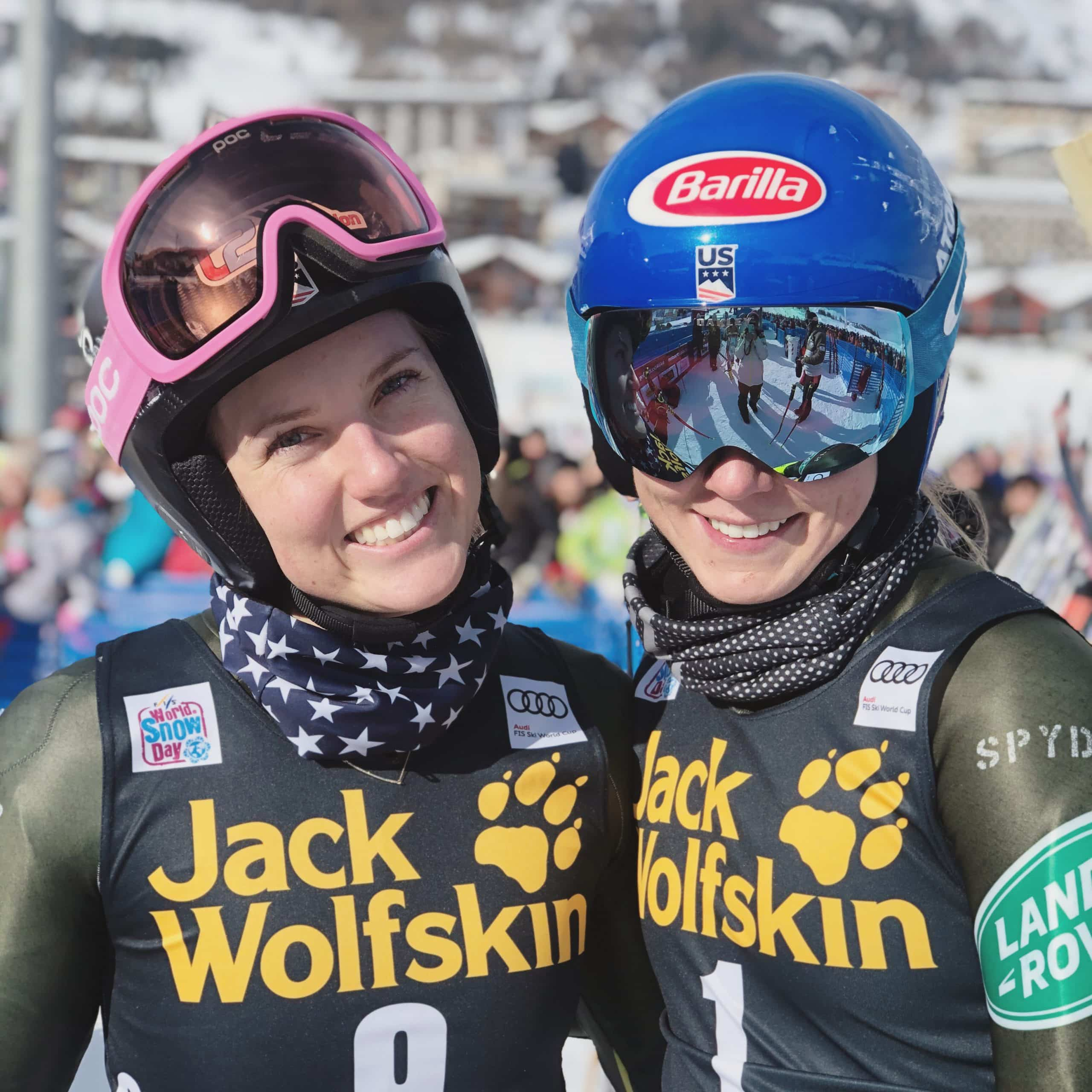 Shiffrin enjoys first-ever parallel GS, looks forward to Bulgaria