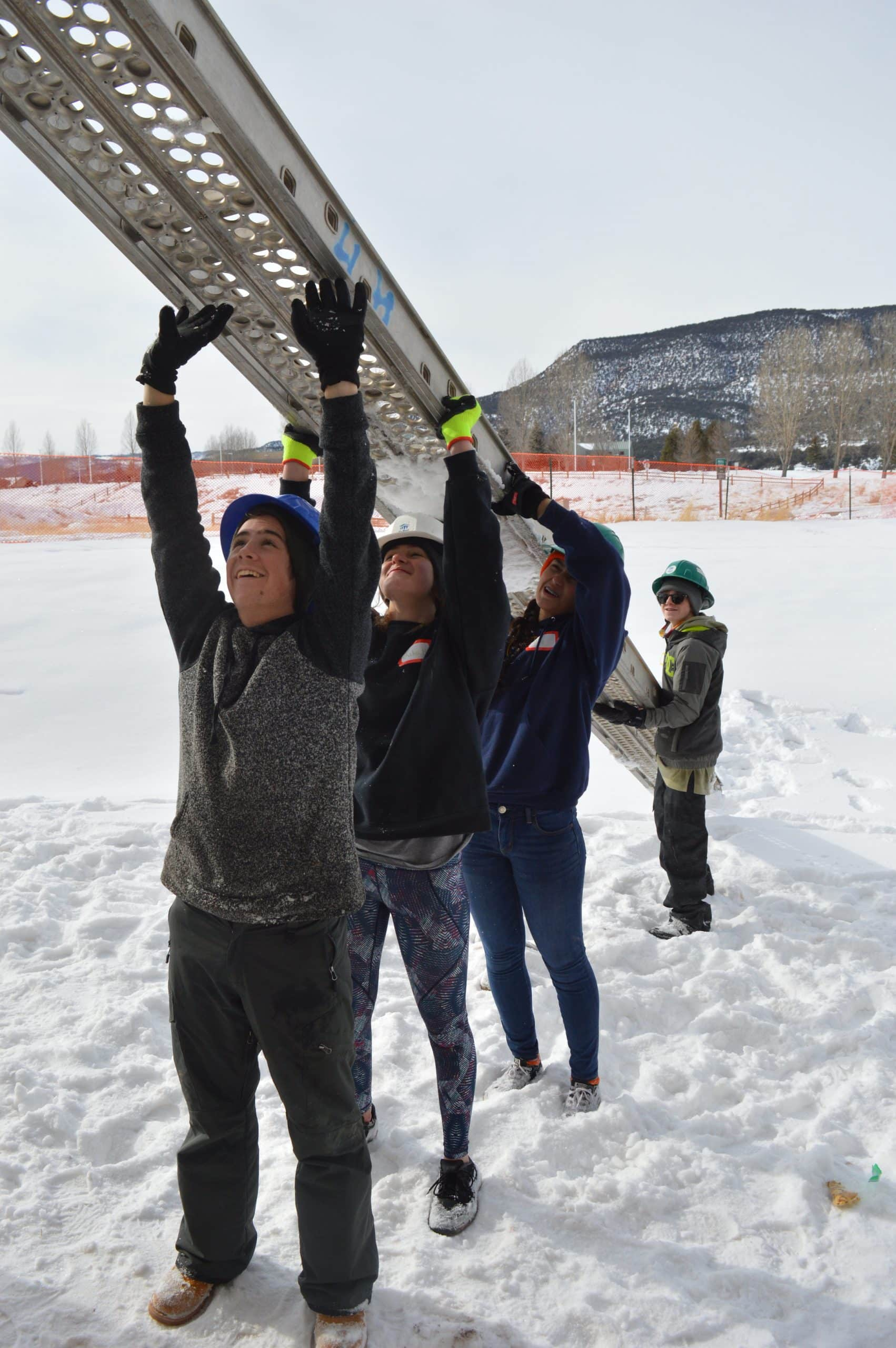 For Vail Mountain School students, Martin Luther King Day is a day 'on'
