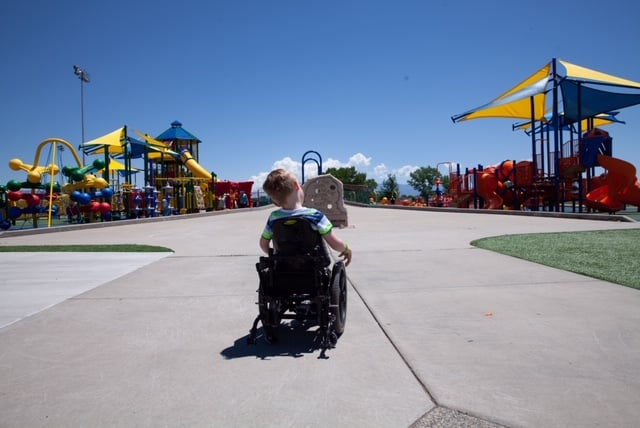 Valley Life for All: Overcoming the challenge of play for every child