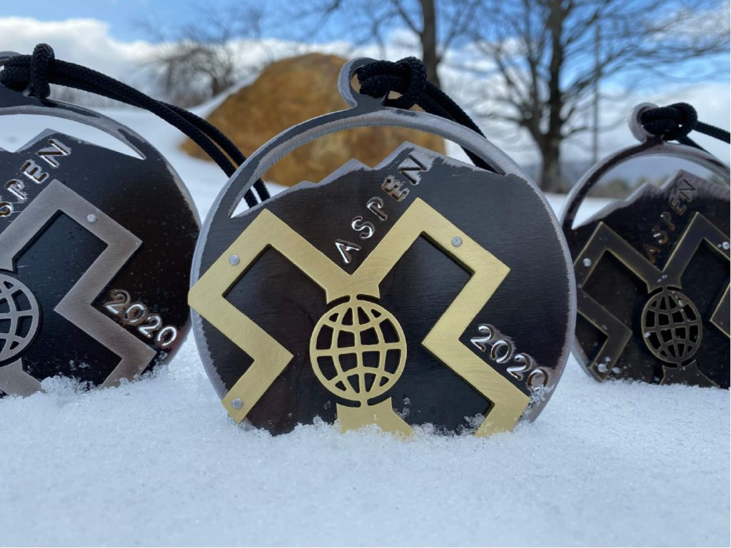 Colorado artist Lisa Issenberg embraces the opportunity to make X Games Aspen medals