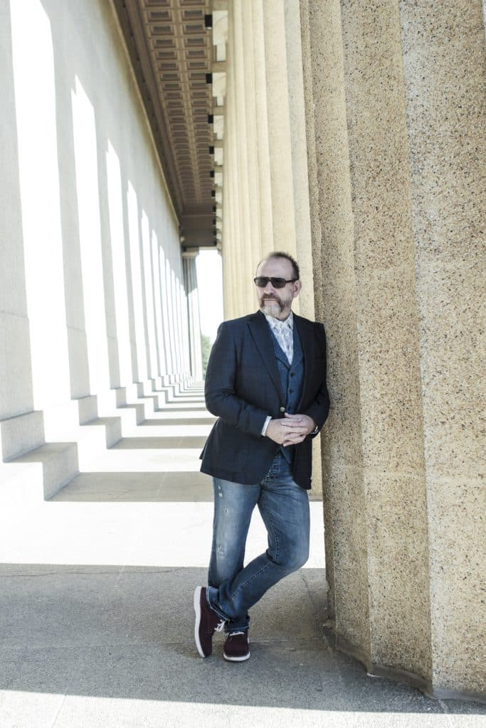 Colin Hay, still a man at work, performing at Beaver Creek in March